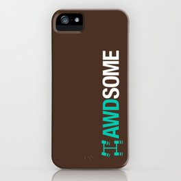 AWDSOME v3 HQvector iPhone Case