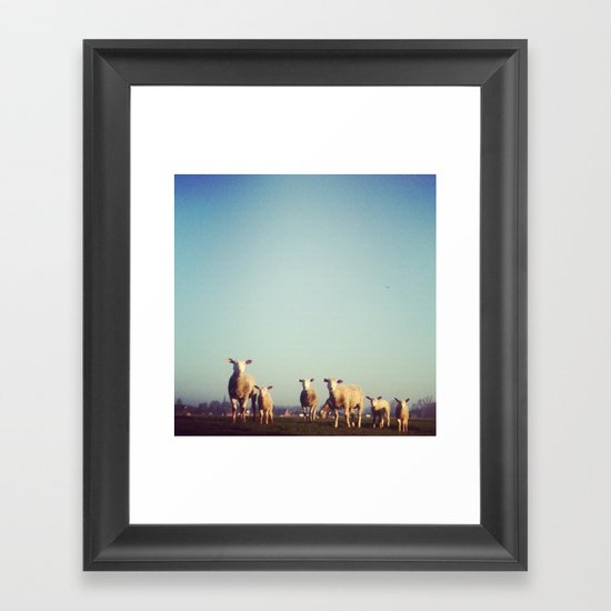 Holywooly Framed Art Print