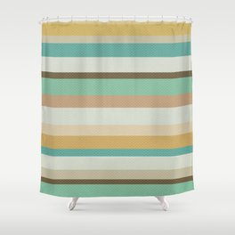Victorian Stripes Shower Curtain