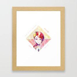 Houseki no kuni - Rutile Framed Art Print
