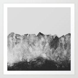 Crystal Soul Geode Art Print