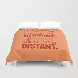 Spooky Scary Dissonance! — Music Snob Tip #439.5 Duvet Cover