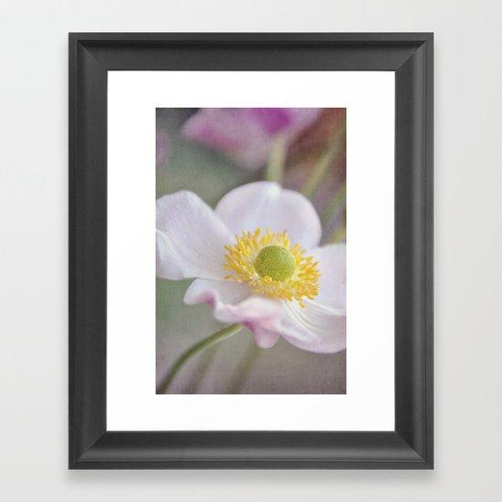 Anemone love I Framed Art Print