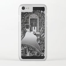 What is it Like in Your Funny Little Brains?  Clear iPhone Case