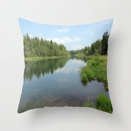 Alaskan Wild Throw Pillow