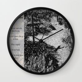 Tragedy of Creatives Wall Clock