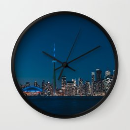 Toronto Blue Wall Clock