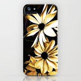 White Florals iPhone Case