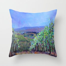 Hillsides of Tuscany Throw Pillow