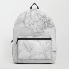 Light Grey Marble Texture Backpack
