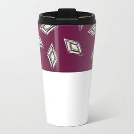 Rhombus jewel Metal Travel Mug