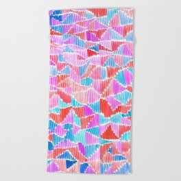 Scribble Beach Towel