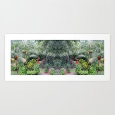 Hiding Predator 1 Art Print