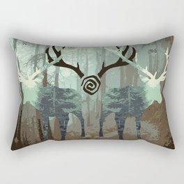 The forest spirits Rectangular Pillow