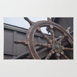 Ship Helm Rug