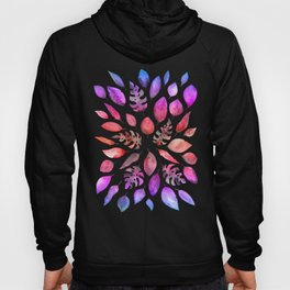 All the Colors of Nature - Gradient on Dark Background Hoody
