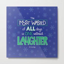 Laughter Metal Print