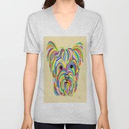 Yorkshire Terrier - YORKIE! Unisex V-Neck