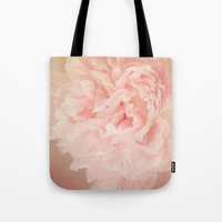 blush Tote Bags featuring BLUSH by Jenny Ardell