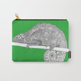 Green-Chameleon Carry-All Pouch