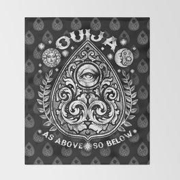 PLANCHETTE T-shirt Throw Blanket
