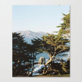Lands End Canvas Print
