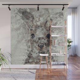 The Rabbit Wall Mural