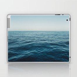 ocean, water, blue sky  -  horizon over water - seascape photography Laptop & iPad Skin