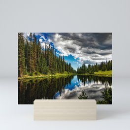 Lake Irene, Rocky Mountain National Park (Colorado) Mini Art Print