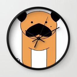 Mops Wall Clock