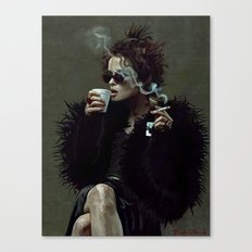 Marla Singer (remaining men together) Canvas Print