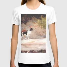 Dog On A Log 1889 By WinslowHomer | Reproduction T-shirt