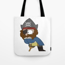 Pirate Shock Tote Bag