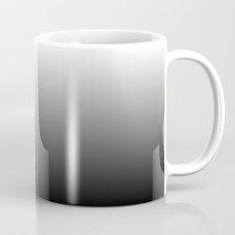 Black to White Gradient Coffee Mug