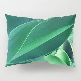 Fine Art Melange of Lush Leaves Photo Pillow Sham