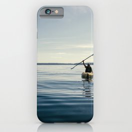 Blue Sea Victory iPhone Case