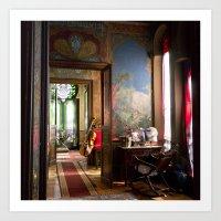 oriental Art Prints featuring Oriental by Label Indigo
