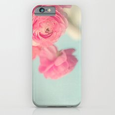 Cotton Candy, Pink Ranunculus Slim Case iPhone 6s