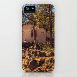 Village of Madagascar iPhone Case