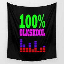 100% oldskool Wall Tapestry