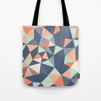southwest Tote Bags featuring Southwest Tris by Beth Thompson