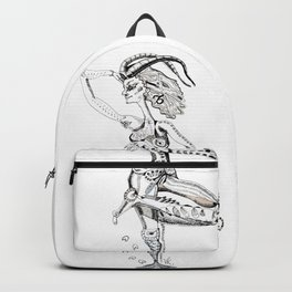 A woman as a sign Capricorn Backpack