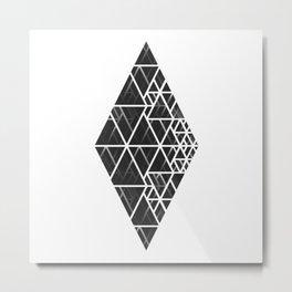 Shape Form Metal Print