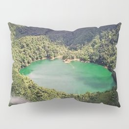 Lake On The Mountain Nature Pillow Sham