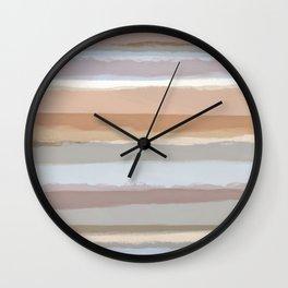 Strips 4C Wall Clock