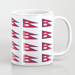 Flag of nepal - Nepali, नेपाल,nepalese,Everest,Kathmandu,Bhojpuri Coffee Mug