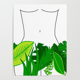 Naked Nature Poster