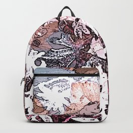 Frosty Transformation to Winter - An abstracted impression Backpack