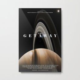 The Getaway - Main Poster Metal Print