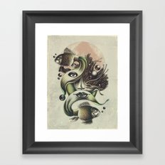 Fish Tale Framed Art Print